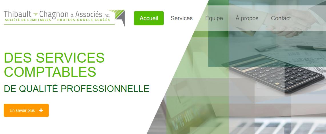 Société De Comptables Thibault, Chagnon & Associés Inc. En Ligne