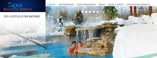 Spa Mont St Hilaire Spa Nordique En Nature