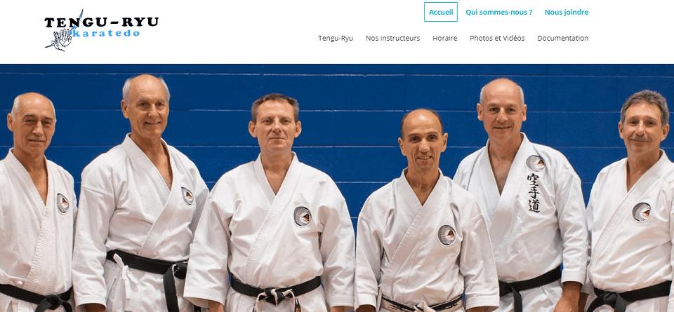 Tengu Ryu Karatedo En Ligne