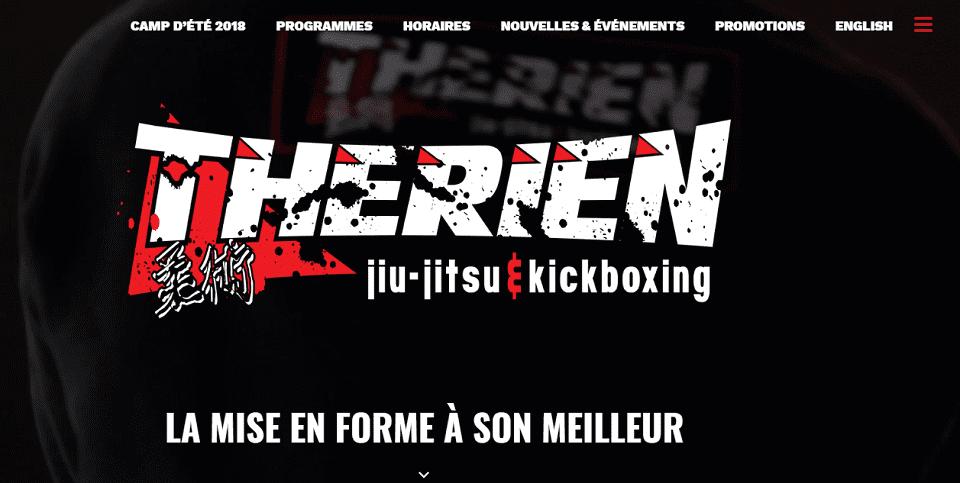 Therien Jiu Jitsu & Kickboxing Gatineau / Hull En Ligne