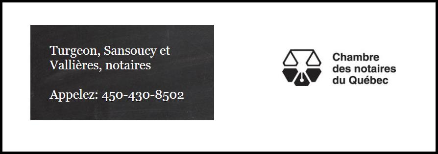 Turgeon, Sansoucy Et Vallières, Notaires En Ligne