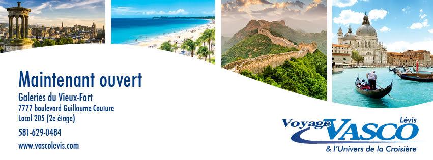 Voyage Vasco Lévis